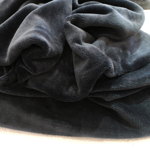 Fleece Throw - Charcoal
