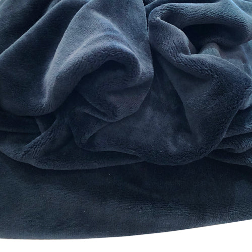Fleece Throw - Navy