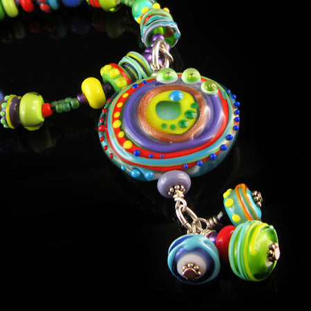 Little Elephant - Lampwork Pendant/Necklace