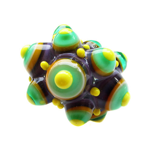 Funky Bubble Dots ♥ 1 Lampwork Focal bead