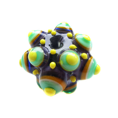 SOLD! Reserved for *** T. W *** - Freak head - Statement Lampwork Focal Bead