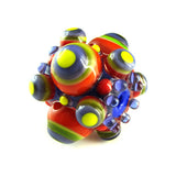 Funky Bubble Dots ♥ 1 Big hole Lampwork Focal bead