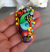 1 handcrafted *Ocean World* Lampwork bead