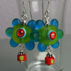 Forbidden Berry ♥ Handcrafted lampwork Earrings