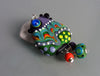 The crazy Chicken ♥ Handcrafted Lampwork Pendant