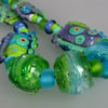 Blue Lagoon ♥ Handcrafted Lampwork Necklace by Michou