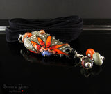 Smokey Livid - Lampwork Pendant/Necklace