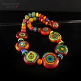 Morocco - Lampwork (40) Necklace