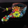 Blooming Heart - Lampwork Necklace - Murano Glas Halskette