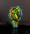 Parrot Bird - Statement Lampwork Focal Bead