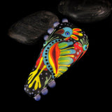 Dragon bird - Statement Lampwork Focal Bead - Murano Glasperle