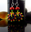 IBIZA - Made to Order  - Handmade lampwork Earrings - lightweight