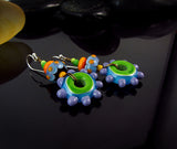 SASSY CUTE - LAMPWORK MURANO GLASS EARRINGS/ OHRRINGE