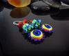FUNKY - Made to Order  - Handmade lampwork Earrings - lightweight