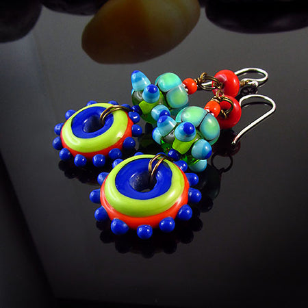 True Romance - Handcrafted Murano Glass Earrings