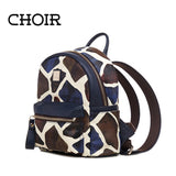 Highest Quality Women Leather Animal School Backpack Youth Feminine Small Backpacks Hot Infant Children Kids Backpacks Book Bag