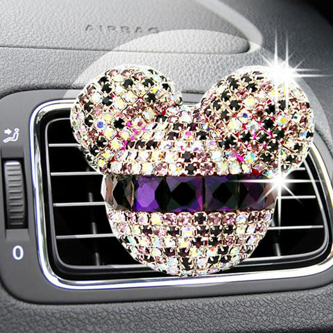 air freshner - Fashion accessories ,clothing, jewelry, car-styling Bling Car Air Freshener Crystal Car Perfumes 100 Original Women parfum Air Conditioning Vent Flavoring In the Car - clothing, Gorgeous things online - gorgeous things online