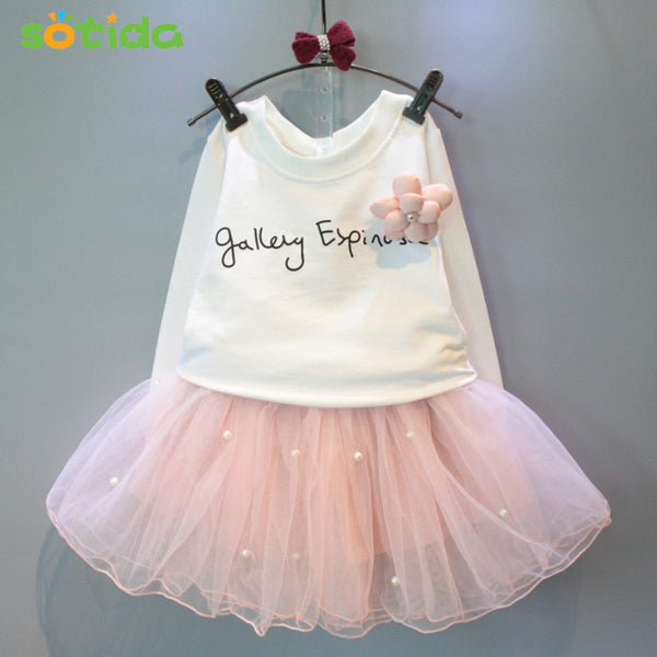 - Fashion accessories ,clothing, jewelry, 2016 New lovely girls white tee shirt and pink skirt with rhinestone clothes set for kids girl autmn children clothing set suit - clothing, Gorgeous things online - gorgeous things online