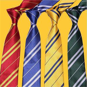 1Pcs Neck Tie Fashion Design Harry Potter Gryffindor/Slytherin Men Boys' Ties Male Corbatas Costume Accessory