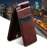 Filp Case For iPhone 7 7 plus 6 6S plus PU Leather Wallet Buckle Stand Cover For Samsung Galaxy S7 Edge S7 S6 Edge Phone Case