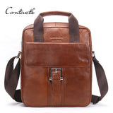 bag - Fashion accessories ,clothing, jewelry, CONTACT'S New Fashion Genuine Leather Man Messenger Bags Cowhide Leather Male Cross Body Bag Casual Men Commercial Briefcase Bag - clothing, Gorgeous things online - gorgeous things online
