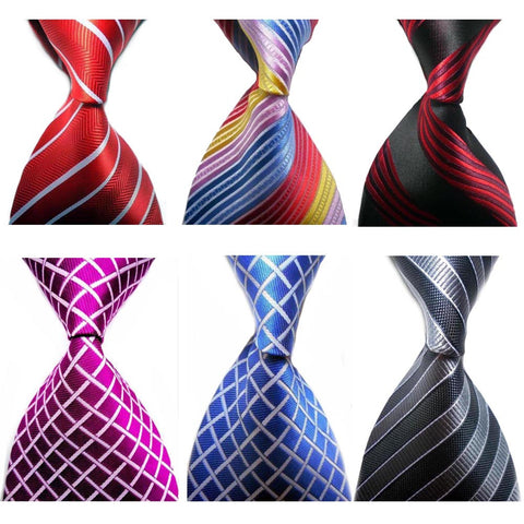 19 Colors Classic Man's Tie Striped Woven Floral Striped Necktie business ties Suit Necktie for men
