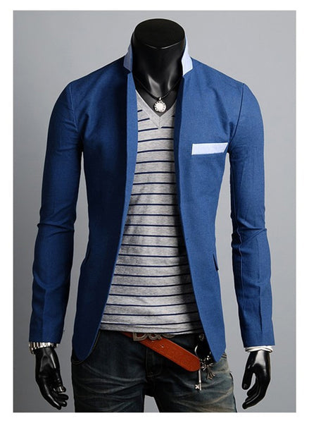 - Fashion accessories ,clothing, jewelry, 2015 New Arrival Single Button Leisure Blazers Men Male Fashion Slim Fit Casual Suit Blazer Clothing Solid Blazer Men 4 Colors - clothing, Gorgeous things online - gorgeous things online
