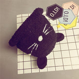 2016 New Arrival Cute Cat Design Hat Winter Wool Cap Baby Boys/Girls Cute Hat  New Fashion Warming Plush Child Hat