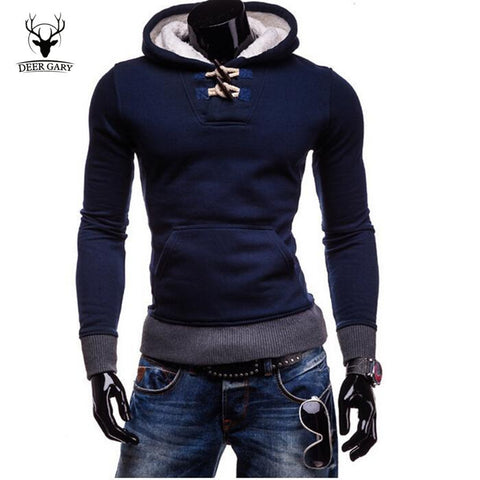 New Man Hoody 2015 Horn Button Casual Sweatshirt Mens Brand Suit Fleece Men Hoodie Jackets Men Sportswear Leisure Men Sweatshirt