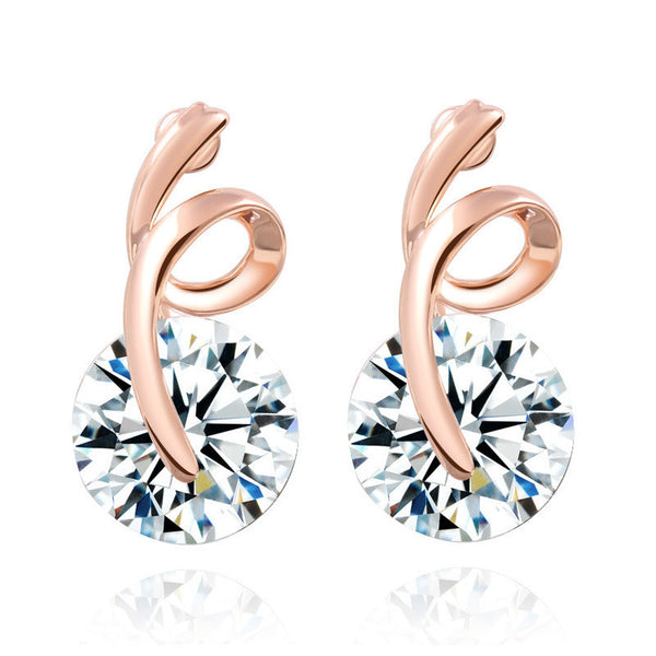 - Fashion accessories ,clothing, jewelry, 2016 Top Popular Fashion Zircon Earring Girls Jewelry Accessories Wedding Stud Earrings Hot Sale - clothing, Gorgeous things online - gorgeous things online