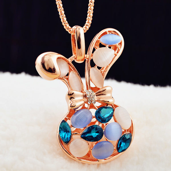 Fashion Exquisite necklace pendants For Christmas gift Cute Small Animal Shape Women Gold Plated Necklace