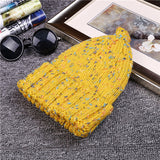 High Quality  Beanie Hats Children Fashion Knit Sweater Cap Hats Winter Warm Knitted Hats