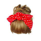 hair accessory - Fashion accessories ,clothing, jewelry, 2016 New Fashion Women's Bow Knotted Turban Dot Headband Hair band Bow Head Wrap Girl Headband - clothing, Gorgeous things online - gorgeous things online
