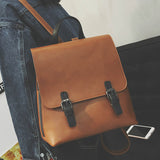 vintage casual leather school bags high quality hotsale women candy clutch ofertas famous designer brand backpack
