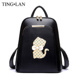 backpack - Fashion accessories ,clothing, jewelry, Famous Brand Women Backpack Luxury Designer Lady's Small Vintage Backpacks For Teenage Girls High Quality PU Leather Travel Bags - clothing, Gorgeous things online - gorgeous things online