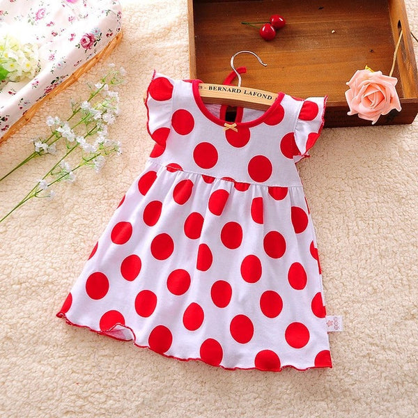 baby clothes - Fashion accessories ,clothing, jewelry, 2016 Summer Baby Girl Dresses 0-2 Years Red Dort Infantil Cotton Regular Clothing Sleeveless Clothes Printed Kids Casual Dress - clothing, Gorgeous things online - gorgeous things online