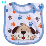 baby bip - Fashion accessories ,clothing, jewelry, Baby Bibs Cute Cartoon Pattern Toddler Baby Waterproof Saliva Towel Cotton Fit 0-3 Years Old  Infant Burp Cloths Feeding Baby - clothing, Gorgeous things online - gorgeous things online