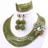 - Fashion accessories ,clothing, jewelry, 2015 Hot African Beads Jewelry Set Nigerian Wedding Beads Jewelry Set Bridesmaid Necklace Jewelry Set Free Shipping SET 61 - clothing, Gorgeous things online - gorgeous things online