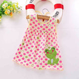2016 Cute Baby Girl Dress Cotton Regular Fashion vestido infantil Sleeveless Dresses Casual Floral Clothing Princess 3-18 Months