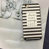 iphone accessory - Fashion accessories ,clothing, jewelry, Dual Layer Black & Pink Stripe Heart Camera Window Soft Silk TPU Phone Back Cover Case For iPhone 7 For iPhone 6 6S 7 Plus - clothing, Gorgeous things online - gorgeous things online