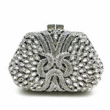 ForUForM Good Quality Women Full Diamond Clutch Evening Bags Luxury Rhinestone Bling Wedding Bridal Bag Shoulder Bag LI-1570