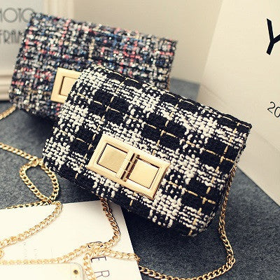 New 2016 Sweet woolen Small Brand Famous Party Clutch crossbody bag designer fashion shoulder bag Messenger bag women handbag