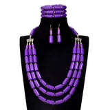 jewelry set - Fashion accessories ,clothing, jewelry, 6 color african beads jewelry set Nigeria wedding bridal choker 2017 statement fashion maxi necklace set for women - clothing, Gorgeous things online - gorgeous things online