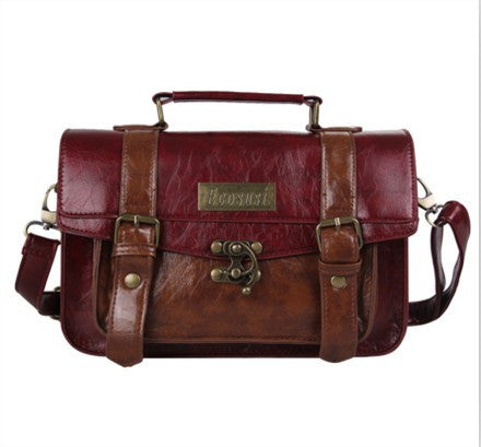 bag - Fashion accessories ,clothing, jewelry, ECOSUSI Preppy Style Women Briefcase Classic Mori Girl Women Leather Satchel Handbags Leisure Portable Women Messenger Bags - clothing, Gorgeous things online - gorgeous things online
