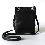 Small Women's Bag Crossbody Leather Female Rivet Over Shoulder Tassel Vintage Mini Purse Handbags Bolsas Black Sling Ladies 2016