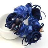 1Piece Hair Accessories for girl & women high elastic floral Hair Rope Super Elastic Headbands Ponytail Scrunchie high quality
