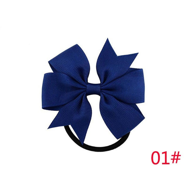 hair accessory - Fashion accessories ,clothing, jewelry, 3 Inch Solid Boutique Grosgrain Ribbon Girl Bow Elastic Hair Tie Rope Hair Band Bows DIY Hair Accessories Best Holiday Gift 2017 - clothing, Gorgeous things online - gorgeous things online