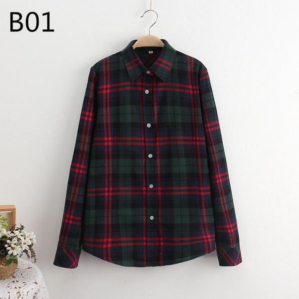 - Fashion accessories ,clothing, jewelry, 5XL Large Size Spring Autumn Blouse Casual Big Size Shirt Cotton Top Lapel Plaid Shirt Outwear Plus Size Women Clothing Blusas - clothing, Gorgeous things online - gorgeous things online