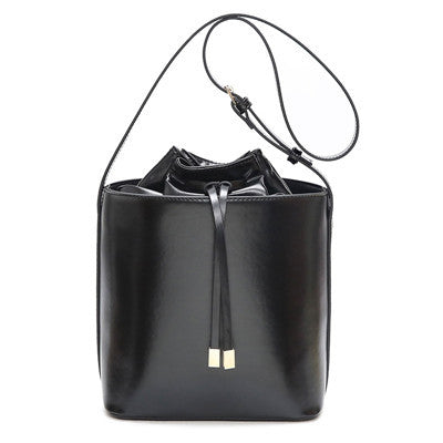 Luxury Drawstring Bucket Bag Shoulder Bags Handbags Women Famous Brands Designer Ladies Bags PU Leather Bolsas Feminina Tote Bag