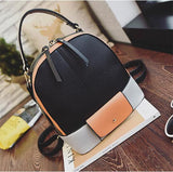 backpack - Fashion accessories ,clothing, jewelry, 2016 Summer Women Panelled Pacthwork Satchel Backpack Female Zipper School Bag Lady Casual Style Big Shoulder Bag for Travelling - clothing, Gorgeous things online - gorgeous things online